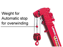 Automatic stop for overwinding